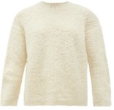 LAUREN MANOOGIAN Alpaca-blend Boucle Sweater - Womens - White