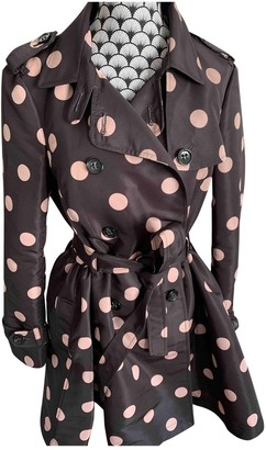 Valentino Red Brown Trench Coat for Women