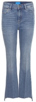 MiH Jeans The Stevie Cropped Flared Jeans