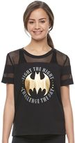 """Juniors' Her Universe Batman """"Fight The Night"""" Graphic Tee by DC Comics"""