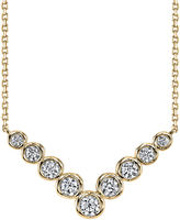 Sirena 1/2 CT. T.W. Diamond 14K Yellow Gold Necklace