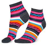 Happy Socks Multi-Striped Ankle Socks