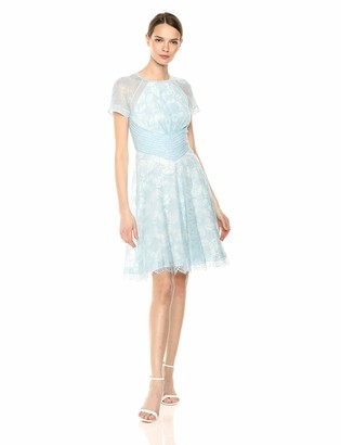 Tadashi Shoji Women's s/s lace Dress