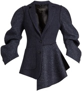 Burberry Sculptured-sleeve wool jacket