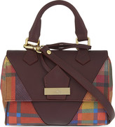 Vivienne Westwood Amberley tartan leather tote