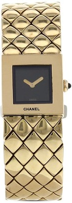Chanel Pre Owned 2000 pre-owned Matelasse 19mm