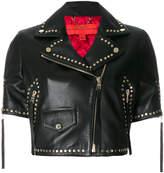 Tommy Hilfiger studded biker jacket