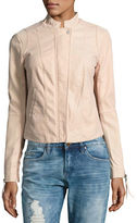 Free People Pastel Moto-Jacket