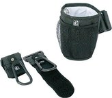 J L Childress Stroller Accessory Set - Cup Holder and Hooks (Black) by