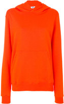 MSGM printed hood sweatshirt - women - Cotton - XS