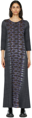 Raquel Allegra Purple Drama Maxi Dress