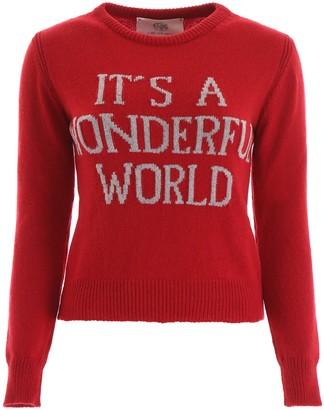 Alberta Ferretti It's A Wonderful World Sweater