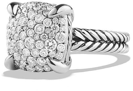 David Yurman Ch'telaine Ring with Diamonds