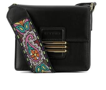 Etro Women's Black Leather Shoulder Bag