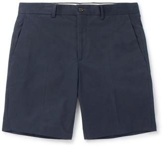Ralph Lauren Purple Label Knightsbridge Stretch-Cotton Shorts