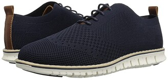 Steve Madden Bmark (Little Kid/Big Kid) (Navy) Boy's Shoes