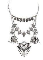 Charlotte Russe Embellished Statement Necklace