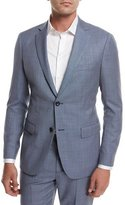 Theory Rodolf N HL Cross-Stitch Suiting Jacket, Blue