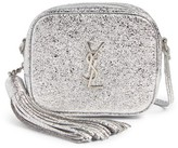 Saint Laurent Monogram Blogger Calfskin Crossbody Bag - Grey
