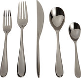 Mepra Forma Oro Nero 5-Piece Place Setting
