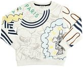 Kenzo Printed Cotton Blend Sweatshirt