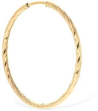 Maria Black 14kt Gold Liv 20mm Mono Hoop Earring