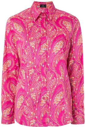 Etro Paisley Fitted Shirt
