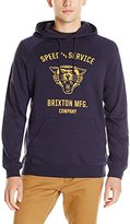 Brixton Men's Rydell Hood Fleece Sweatshirt