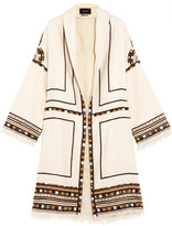 Isabel Marant Brayton Embellished Wool Coat
