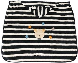 Familiar striped hooded sleep bag