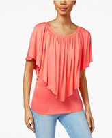 Thalia Sodi Convertible Overlay Top, Only at Macy's