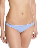 Vitamin A Luciana Striped Hipster Full-Coverage Swim Bottoms