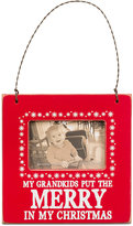 Primitives by Kathy My Grandkids Put The Merry In My Christmas Mini Hanging Frame Ornament