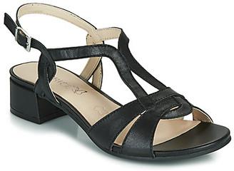Caprice SATIBO women's Sandals in Black