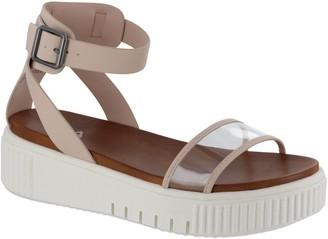 Mia Sneaker Sole Sport Sandals - Lunna