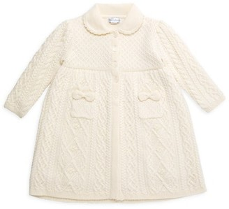 Ralph Lauren Baby Girl's Merino Wool Sweater Coat