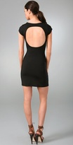 Mini Open Back Dress
