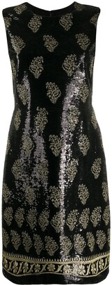 Giambattista Valli Embellished Shift Dress