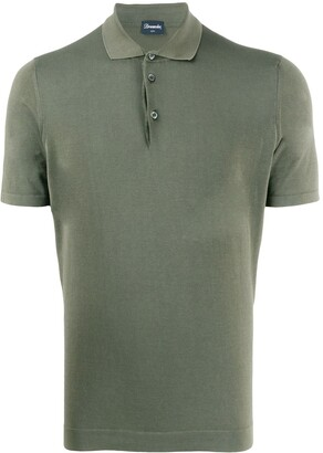 Drumohr Solid-Color Polo Shirt