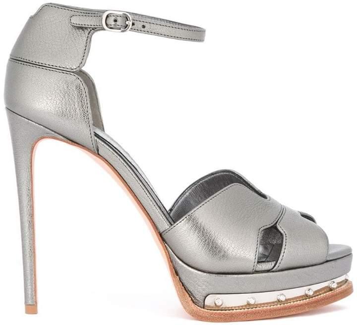 Alexander McQueen platform sandals
