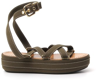 Marni Strappy Wedged Sandals