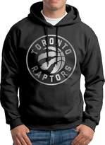 Sarah Men's Toronto Raptors Platinum Logo Hoodie L