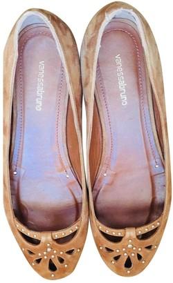 Vanessa Bruno Camel Leather Ballet flats