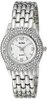XOXO Women's XO5247 Analog Display Analog Quartz Silver Watch