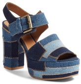 See by Chloe Women's Colorblocked Platform Sandal