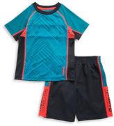 Reebok Boys 2-7 Athletic Tee and Shorts Set