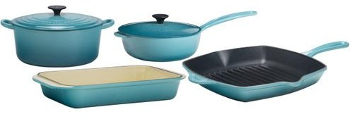Le Creuset Cobalt Cookware Set