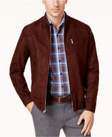 Tasso Elba Men's Suede Bomber Jacket, Created for Macy's