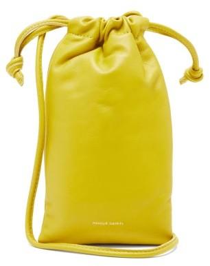 Mansur Gavriel Pillow Mini Leather Cross-body Bag - Green