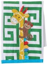 Mud Pie Baby Newborn Dribble and Burp Cloths, Giraffe/Green by